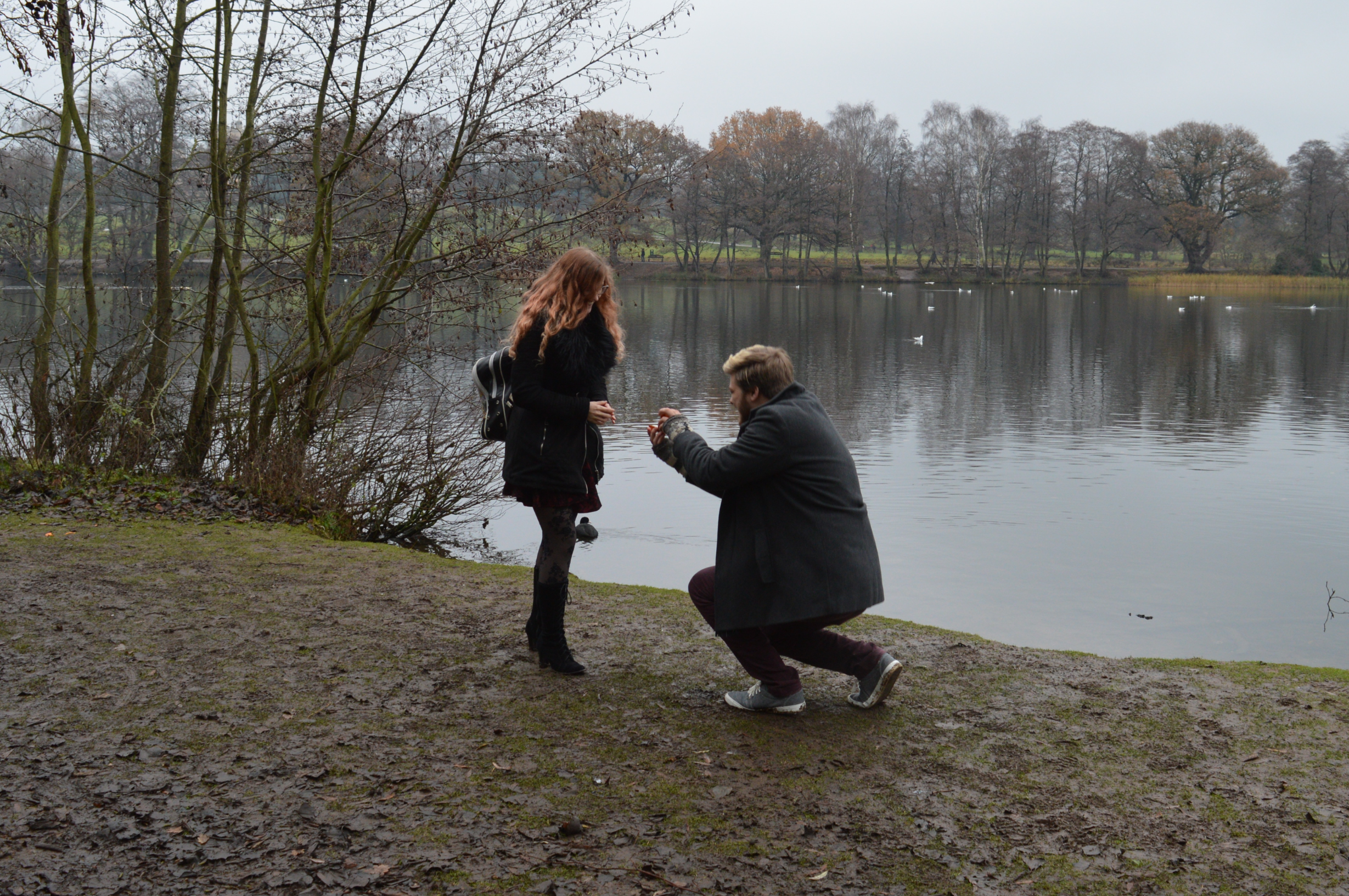The proposal moment